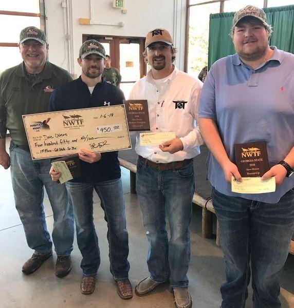 GA State Senior Division Calling Contest Winners