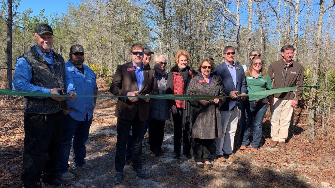 New Canoochee Sandhills WMA Celebrates Opening with Ribbon-Cutting
