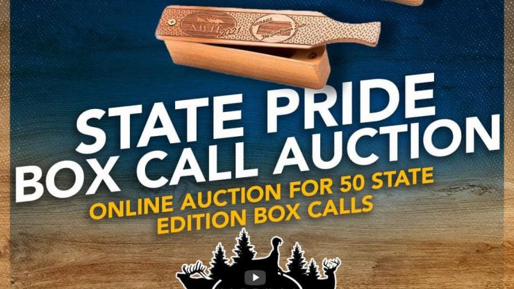 2021 NWTF Custom Box Calls Auction