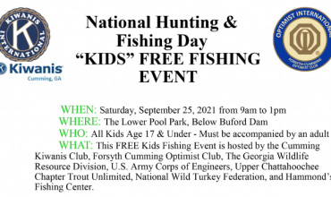 National Hunting & Fishing Day Sept 25
